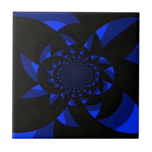 Dark Swirl Ceramic Tiles