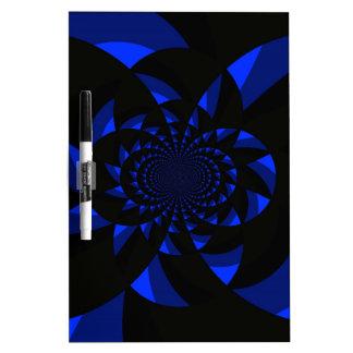 Dark Swirl Dry-Erase Whiteboards