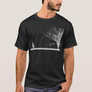 Dark T2O Night Scene Shirt With T2O Logo On Back