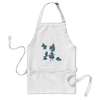Dark Tales Axe Girl and Crows Adult Apron