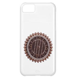 Dark Tan Chocolate Chip : CHAKRA iPhone 5C Case