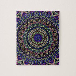 Dark Tapestry Kaleidoscope Puzzle