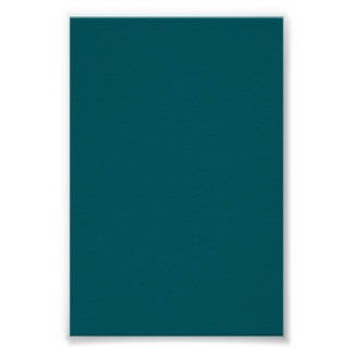 Dark Teal Green Background on a Poster