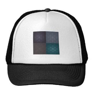 dark template background ai trucker hats