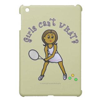 Dark Tennis Player Girl Cover For The iPad Mini