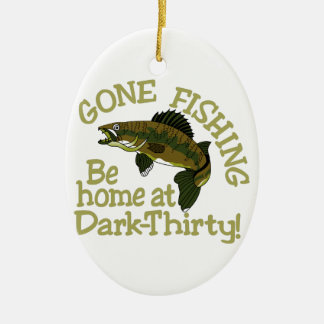 Dark Thirty Ceramic Ornament