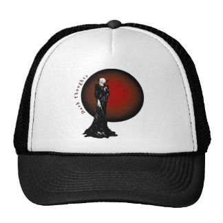 Dark Thoughts Illustration Trucker Hat