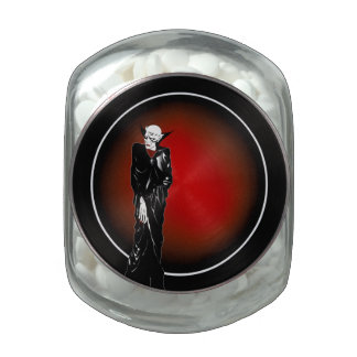 Dark Thoughts Vampire Candy Tin or Jar