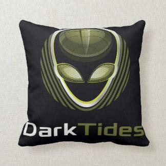 Dark Tides Throw Pillow