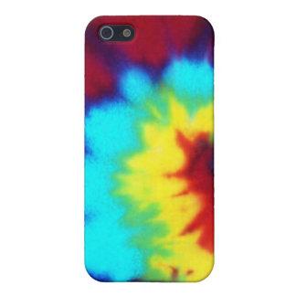 Dark Tie Dye Design Case For iPhone SE/5/5s