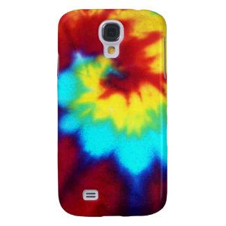 Dark Tie Dye Design Galaxy S4 Cover