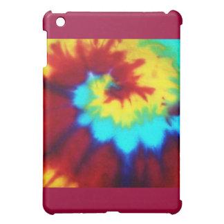 Dark Tie Dye Design iPad Mini Covers