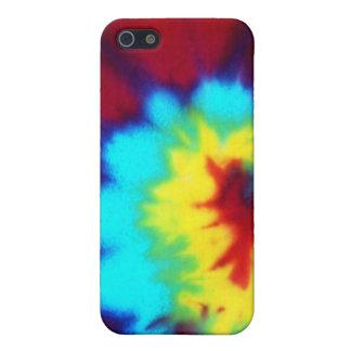 Dark Tie Dye Design iPhone 5 Cover