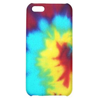 Dark Tie Dye Design iPhone 5C Cover