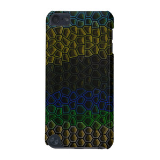 Dark tile pattern iPod touch 5G case