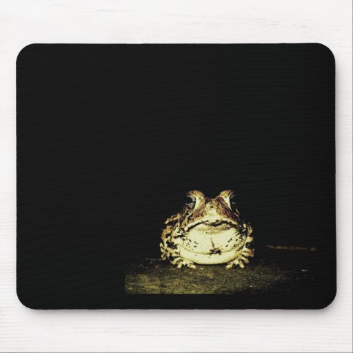 Dark Toad Mouse Pad