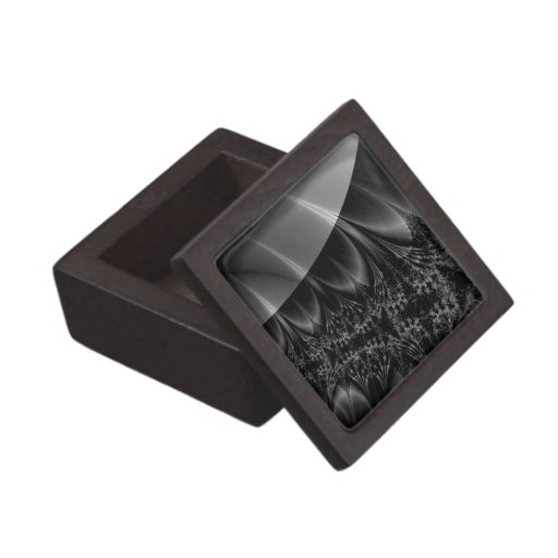 Dark Trace Fractal Premium Jewelry Boxes