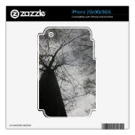 Dark Tree Decals For The iPhone 3
