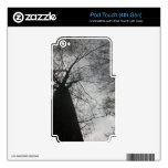 Dark Tree Skin For iPod Touch 4G
