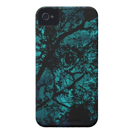 Dark Tree Skull iPhone 4 Case-Mate Cases