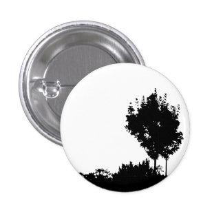 Dark Trees Pinback Button