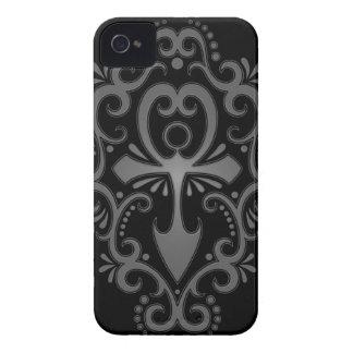 Dark Tribal Ankh Case-Mate iPhone 4 Cases