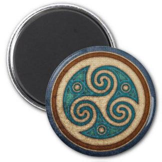 Dark Triskele Magnet