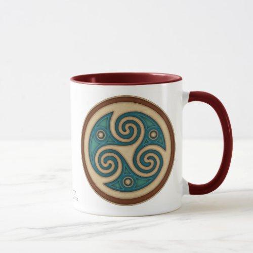 Dark Triskele Mug
