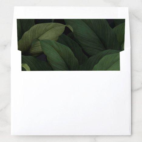 Dark Tropics Envelope Liner