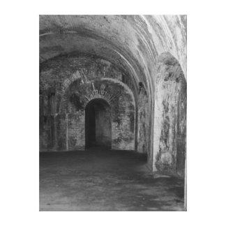 Dark Tunnels Canvas Print
