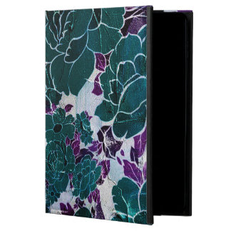 Dark Turquoise Purple Rose Texure Powis iPad Air 2 Case