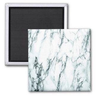 Dark Turquoise Vein Marble Look Magnet