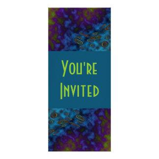 dark twirls personalized announcements