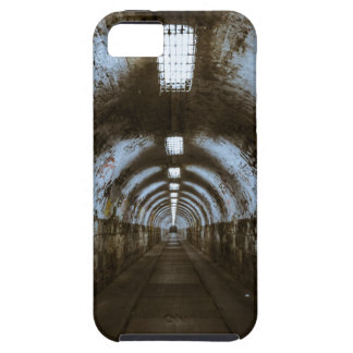 Dark underground tunnel iPhone 5 covers