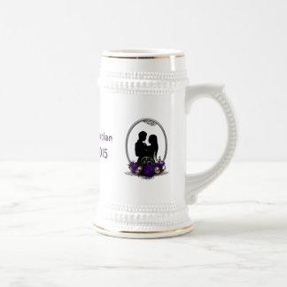 Dark Union Vampire Goth Wedding Mug