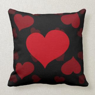 Dark Valentine Heart Pillow
