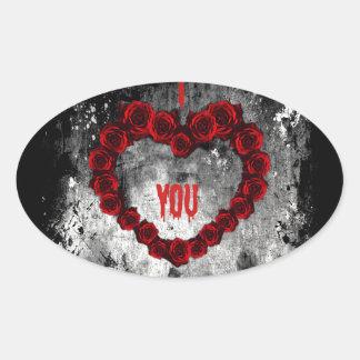 Dark Valentine Sticker