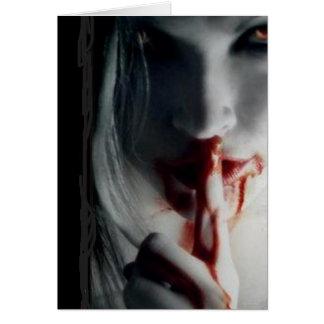 Dark Vampire Card