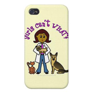 Dark Veterinarian Girl iPhone 4/4S Cases