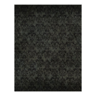 Dark Victorian Scrapbook Paper (2-Sided) Flyers