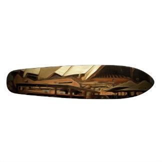 Dark view of Sydney Opera house Custom Skateboard