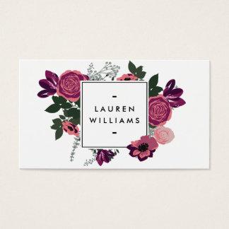Motif floral motif floral vintage gratuit motif floral colorful floral design business cards reheart Choice Image