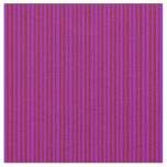 [ Thumbnail: Dark Violet and Dark Red Colored Stripes Fabric ]