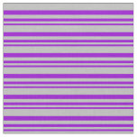 [ Thumbnail: Dark Violet and Grey Lined/Striped Pattern Fabric ]