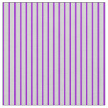 [ Thumbnail: Dark Violet and Light Grey Colored Pattern Fabric ]