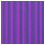 [ Thumbnail: Dark Violet & Midnight Blue Colored Lines Fabric ]