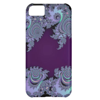 Dark Violet Midnight Fractal Abstract Case For iPhone 5C
