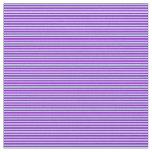 [ Thumbnail: Dark Violet & Powder Blue Stripes Fabric ]