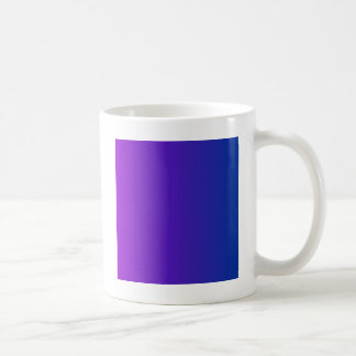 Dark Violet to Dark Powder Blue Vertical Gradient Coffee Mug