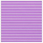 [ Thumbnail: Dark Violet & White Lines Fabric ]